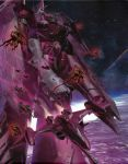 alien battle_galaxy bug ghost_drone highres macross macross_frontier macross_galaxy mecha space star storm_attacker v-9 vajra vf-27
