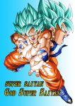 dragon_ball dragonball_z son_gokuu super_saiyan super_saiyan_god