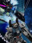3d blue_destiny_02 blue_destiny_03 energy_sword gun gundam gundam_side_story:_the_blue_destiny mecha shield space space_colony sword weapon