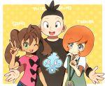10s ako_(ako0905) pokemon pokemon_(game) pokemon_xy sana_(pokemon) tierno_(pokemon) toroba_(pokemon)