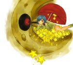 00s 1girl artist_request lunatone lying nintendo npc_trainer on_stomach parasol_lady_(pokemon) pokemon pokemon_(game) pokemon_rse star umbrella