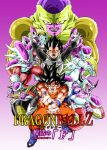 armor dragon_ball dragonball_z frieza golden_frieza horns son_gokuu tail vegeta