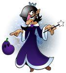 1boy camelot_(company) doppelganger eggplant evil fusion mario_(series) nintendo nintendo_ead oc princess rosetta_(mario) rosetta_(mario)_(cosplay) solo super_mario_bros. super_mario_galaxy tagme trap waluigi what