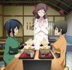 3girls hiryuu_(kantai_collection) kantai_collection mamiya_(kantai_collection) multiple_girls screencap souryuu_(kantai_collection)