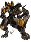 dragon_caesar dragonzord drill horn machine mecha mega_dragonzord mighty_morphin_power_rangers no_humans power_rangers sentai super_sentai tail