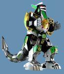 dragon_caesar dragonzord drill horn machine mecha mega_dragonzord mighty_morphin_power_rangers power_rangers sentai super_sentai tail toy