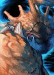 crab kingler nintendo no_humans pokemon red_eyes yilx