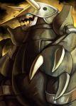 aggron blue_eyes claws no_humans pokemon yilx