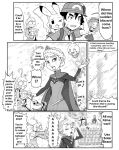 citron_(pokemon) crossover elsa_(frozen) eureka_(pokemon) frozen_(disney) fukuji_(pokemon) gouguru pokemon satoshi_(pokemon) serena_(pokemon) translated