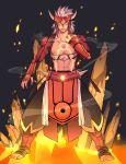 1boy artist_request full_body groudon male_focus nintendo personification pokemon primal_groudon solo