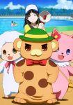 adachi_eiko amagi_brilliant_park macaron_(amaburi) moffle screencap tiramii