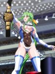 1girl championship_belt noppo-san sakurai_chisato wrestle_angels wrestle_angels_survivor wrestler wrestling_ring