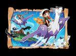 ! >_< 10s absurdres blue_sky closed_eyes flying haruka_(pokemon) haruka_(pokemon)_(remake) highres island latias latios mega_latias mega_latios mega_pokemon murkrow ocean official_art poke_ball pokemon pokemon_(game) pokemon_oras sky speed_lines sugimori_ken taillow torchic volcano wingull wynaut yuuki_(pokemon) yuuki_(pokemon)_(remake)
