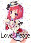 1girl female hym9594 love_live!_school_idol_project nishikino_maki solo sore_wa_bokutachi_no_kiseki white_background