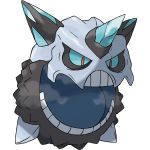 10s glalie mega_glalie mega_pokemon no_humans official_art pokemon pokemon_(game) pokemon_oras