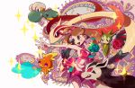 10s alternate_costume artist_request bagon flower haruka_(pokemon) haruka_(pokemon)_(remake) mightyena milotic pokemon pokemon_(game) pokemon_oras rose roselia sparkle torchic