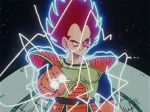 2boys alien animated animated_gif antennae armor aura death dragon_ball dragonball_z energy energy_beam explosion gloves insect insect_girl moon multiple_boys nappa planet redhead scouter shoulder_pads smile space spiky_hair tail universe vegeta