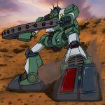 dust highres hirodango mecha sentou_mecha_xabungle walker_gallia weapon