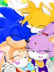 blaze_the_cat blush cream_the_rabbit friends miles_prower sonic sonic_the_hedgehog tagme