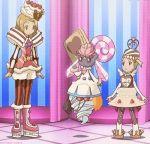 2girls alternate_costume animated animated_gif child diancie eureka_(pokemon) multiple_girls pokemon pokemon_(anime) screencap serena_(pokemon) tagme