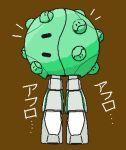 densetsu_kyojin_ideon fusion gundam haro lowres mecha mobile_suit_gundam no_humans parody rogg_mack solo