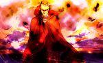 1boy black_hair cape larten_crepsley necktie redhead scar short_hair solo the_saga_of_darren_shan vampire vest yamado