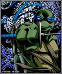 leonardo lowres no_humans sakan teenage_mutant_ninja_turtles