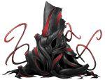 cthulhu_mythos mazeran no_humans nyarlathotep original simple_background tentacle transparent_background