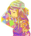 bandage colorful knife ninja nintendo pointy_ears princess princess_zelda reverse_trap sheik solo the_legend_of_zelda
