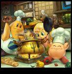 chef_hat chef_kawasaki cooking food fumu fumu_(kirby) hat kirby kirby_(series) koki koki_(pixiv) maxim_tomato super_smash_bros. tiff