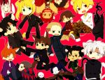 4girls 6+boys animal_ears assassin_(fate/zero) berserker_(fate/zero) caster_(fate/zero) cat_ears cat_tail chibi dog_ears emiya_kiritsugu everyone fate/zero fate_(series) gilgamesh irisviel_von_einzbern kayneth_archibald_el-melloi kemonomimi_mode kotomine_kirei lancer_(fate/zero) lion_ears matou_kariya multiple_boys multiple_girls rabbit_ears rider_(fate/zero) saber sc69 tail tohsaka_tokiomi toosaka_tokiomi uryuu_ryuunosuke waver_velvet