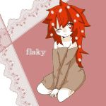 1girl bad_id flaky happy_tree_friends personification
