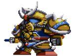 banpresto china chinese_gundam gundam lowres md5_mismatch mecha no_humans parody pixel_art resized super_robot_wars uramoto_kouji