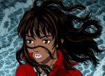 1girl 90s berserk casca dark_skin solo
