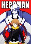 1girl androgynous futatsuki heroman heroman_(robot) joey_jones
