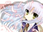 angel_beats! long_hair school_uniform tenshi_(angel_beats!) white_hair yellow_eyes