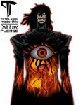 1boy absurdres alucard_(hellsing) black_hair eyes hellsing high_collar highres leather male_focus open_mouth pale_skin red_eyes sharp_teeth solo teeth transparent_background vampire vector_trace