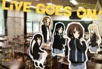 5girls absurdres akiyama_mio bangs black_eyes black_hair blonde_hair blue_eyes blunt_bangs brown_eyes brown_hair classroom crease footwear hair_ornament hairband hairclip highres hime_cut hirasawa_yui k-on! kotobuki_tsumugi long_hair looking_back multiple_girls nakano_azusa scan school_uniform short_hair sitting skirt smile socks tainaka_ritsu wink