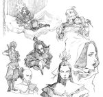 2girls 3boys armor avatar:_the_last_airbender avatar_(series) avici azula bad_id brother_and_sister family father_and_daughter father_and_son iroh monochrome mother_and_daughter mother_and_son multiple_boys multiple_girls nickelodeon ozai prince princess royal siblings sketch uncle_and_nephew uncle_and_niece ursa_(avatar) zuko