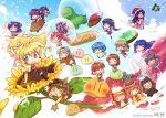 >_< 6+girls =_= ^_^ air animal_costume baozi bear_costume blonde_hair botan bread bubble chibi clannad closed_eyes company_connection crossover dango_daikazoku dinosaur doughnut elder_dango everyone flower food fujibayashi_kyou fujibayashi_ryou furukawa_nagisa hinohino ibuki_fuuko ice_cream ichinose_kotomi jam kamio_misuzu kannabi_no_mikoto kanon kawasumi_mai key_(company) kirishima_kano kurata_sayuri michiru_(air) minase_nayuki misaka_shiori miyazawa_yukine multiple_girls nikuman o_o potato_(air) sakagami_tomoyo sawatari_makoto siblings sisters snow snowman sunflower sunohara_mei taiyaki toono_minagi tsukimiya_ayu twins wagashi