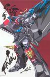 gaofighgar gaogaigar highres mecha no_humans super_robot yuusha_ou_gaogaigar yuusha_ou_gaogaigar_final yuusha_series