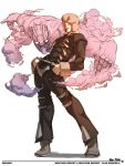 falcoon hand_in_pocket hat horns jojo_no_kimyou_na_bouken male_focus stand_(jojo) weather_report weather_report_(stand)