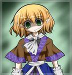 green_eyes hair_in_mouth lowres mizuhashi_parsee touhou