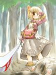 animal_ears blood forest merchant merchant_(ragnarok_online) nature ragnarok_online suka sword weapon
