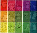 bright_noa for_the_barrel frau_bow gundam hayato_kobayashi kai_shiden koyama_shigeto mirai_yashima multiple_monochrome rainbow_order ryu_jose sayla_mass sleggar_law