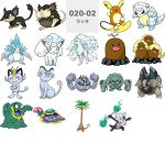 alolan_diglett alolan_dugtrio alolan_exeggutor alolan_geodude alolan_golem alolan_graveler alolan_grimer alolan_marowak alolan_meowth alolan_muk alolan_ninetales alolan_persian alolan_raichu alolan_raticate alolan_rattata alolan_sandshrew alolan_sandslash alolan_vulpix highres no_humans official_art pokemon pokemon_(game) pokemon_sm simple_background