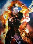 breasts huge_breasts isabella_valentine photo poster soul_calibur sword voldo whip