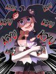 1girl cleffa cosplay crossover danganronpa english enoshima_junko enoshima_junko_(cosplay) gengar hex_maniac_(pokemon) highres mimikyu_(pokemon) monokuma monokuma_(cosplay) pokemon pokemon_(creature) pokemon_(game) pokemon_sm pokemon_xy