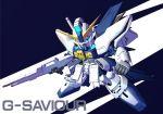chibi g-saviour_gundam gun gundam gundam_g-saviour mecha sd_gundam solo weapon yugo_ama_toki