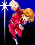70s captain_future haruyama_kazunori joan_randall oldschool pose punching